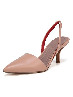 Diane Von Furstenberg Mortelle Slingback Leather Pump