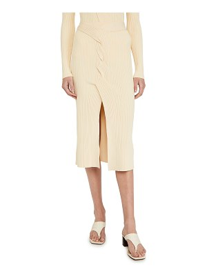 Dion Lee cable twist skirt