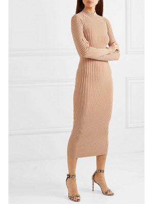 Dion Lee cutout ribbed-knit midi dress