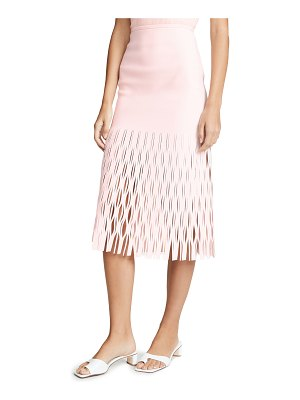 Dion Lee shadow perforated skirt