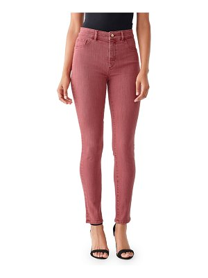 DL 1961 Farrow Cropped High-Rise Skinny Jeans