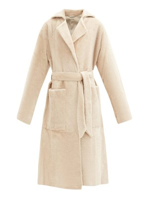 DODO BAR OR collie shearling wrap coat