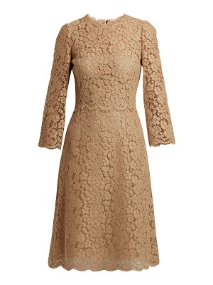 Dolce & Gabbana Cordonetto Lace Midi Dress