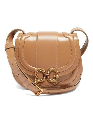 Dolce & Gabbana dg amore leather cross-body bag