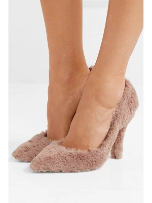 Dolce & Gabbana faux fur pumps