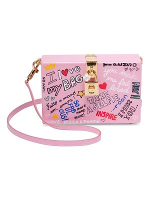 DOLCE & GABBANA Graphic Convertible Clutch