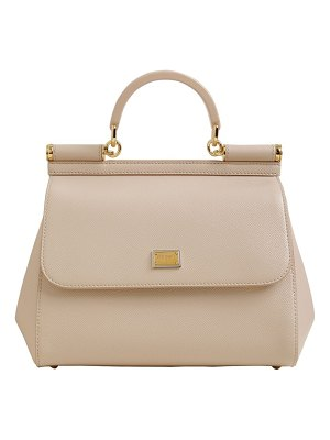 Dolce & Gabbana Md sicily grained leather bag
