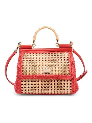 Dolce & Gabbana medium wicker sicily tote