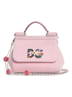 Dolce & Gabbana mini miss sicily metallic satchel