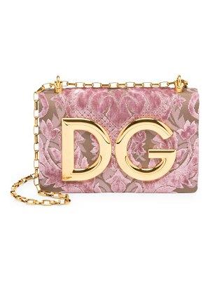 Dolce & Gabbana pochette convertible logo shoulder bag