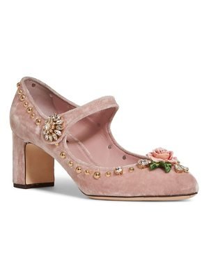DOLCE & GABBANA Rose Mary Jane Pump