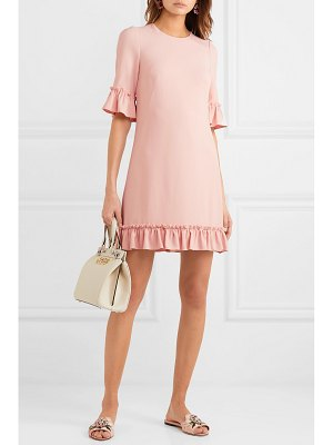 Dolce & Gabbana ruffled cady mini dress