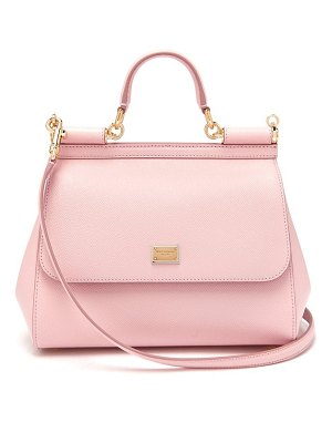 Dolce & Gabbana sicily medium dauphine leather bag