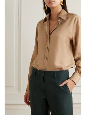 Dolce & Gabbana washed-silk blouse