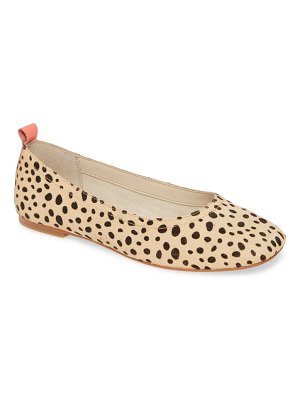 Dolce Vita ozzie genuine calf hair flat