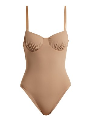 DOS GARDENIAS Love Button Underwired Swimsuit
