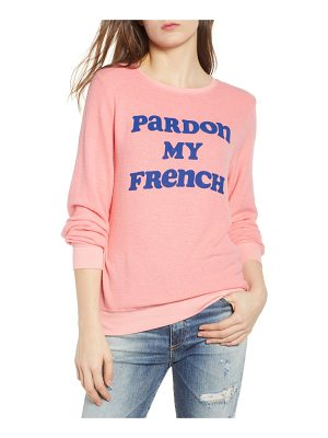 DREAM SCENE Pardon My French Sweatshirt