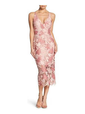 Dress the Population aurora lace tea length dress