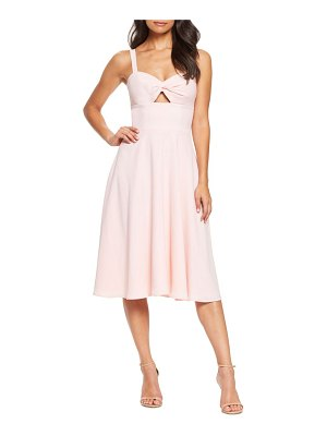 Dress the Population bianca sweetheart midi cocktail dress