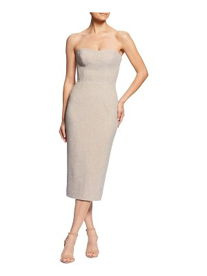Dress the Population claire metallic body-con midi dress