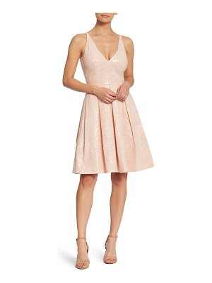 Dress the Population collette sequin fit & flare cocktail dress