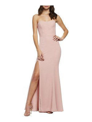 Dress the Population ellen strapless gown
