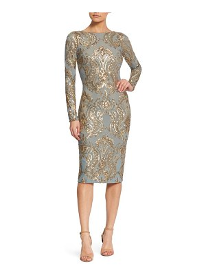 Dress the Population emery sequin sheath dress