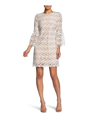 Dress the Population crochet shift dress