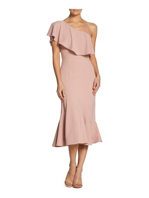 Dress the Population raquel one-shoulder trumpet dress
