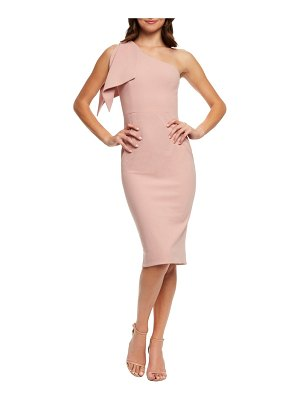 Dress the Population tiffany one-shoulder midi dress