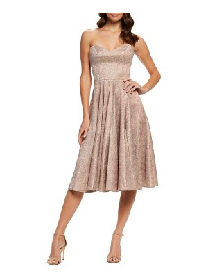 Dress the Population vivenne strapless fit & flare dress