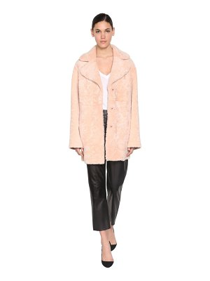 DROME Reversible shearling coat