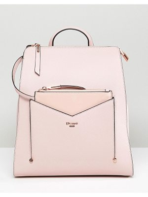 Dune Backpack in Dusty Pink with Detachable Front Purse