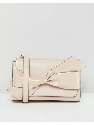Dune Blush Bow Detail Chain Cross Body Bag