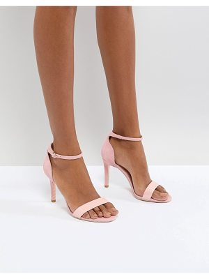 Dune london barely there heeled sandals