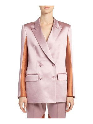Each X Other colorblock satin blazer