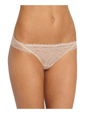 Eberjey Ruffled Lace Thong