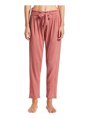 Eberjey summer of love hudson tie-front pants