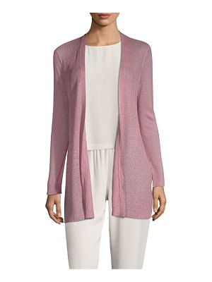 Eileen Fisher bracelet-sleeve long cardigan