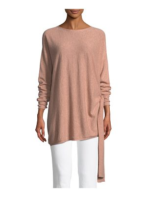 Eileen Fisher Cashmere Side-Tie Tunic