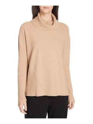 Eileen Fisher cashmere turtleneck top