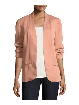 EILEEN FISHER Corded Tencel® Simple Blazer