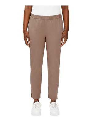 Eileen Fisher Organic Cotton Twill Slim Ankle Pants