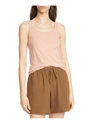 Eileen Fisher scoop neck silk camisole