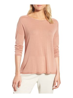 EILEEN FISHER Tencel Knit Sweater
