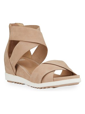 Eileen Fisher Viv Wedge Sandals