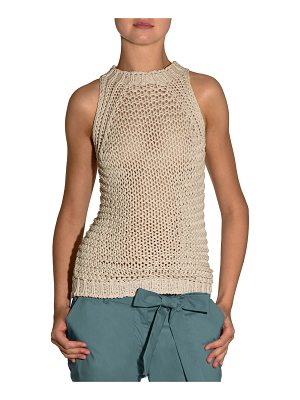 ELEVENTY Hand-Knit Halter Sweater