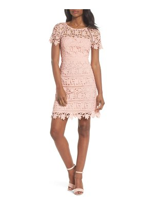 Eliza J crochet overlay dress