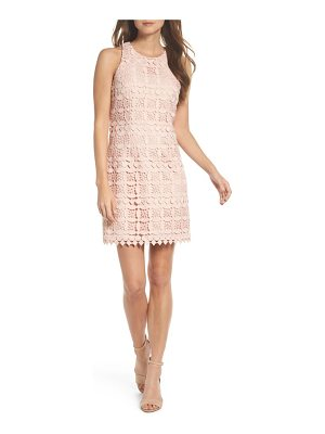 ELIZA J Lace Racerback Shift Dress