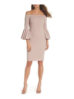 Eliza J off the shoulder body-con dress